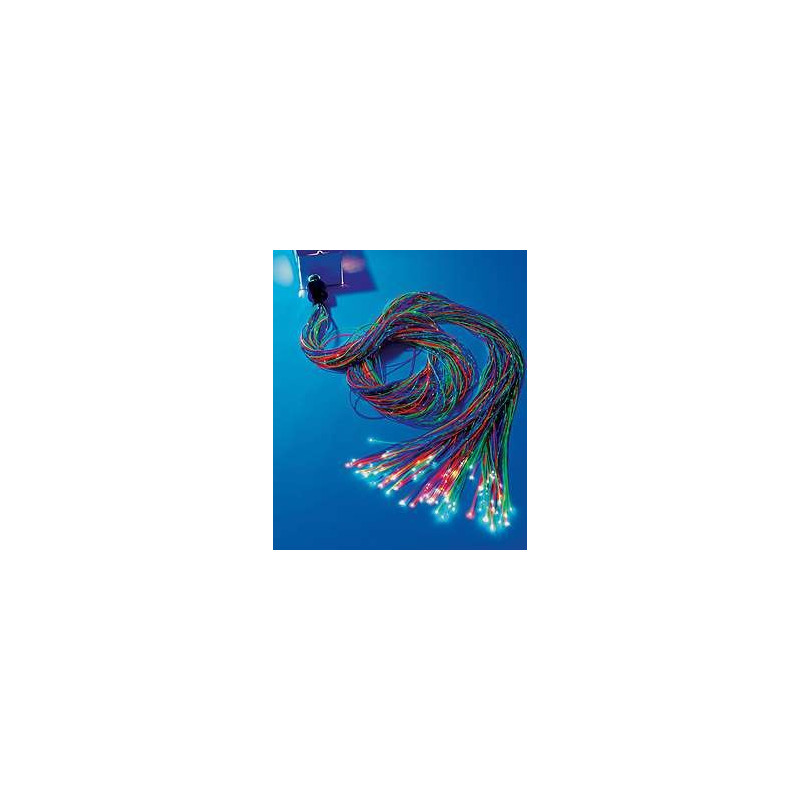 Zestaw światłowodów 30 szt x 250 cm (6 kolorów)