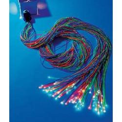 Zestaw światłowodów 200 szt x 300 cm (6 kolorów)