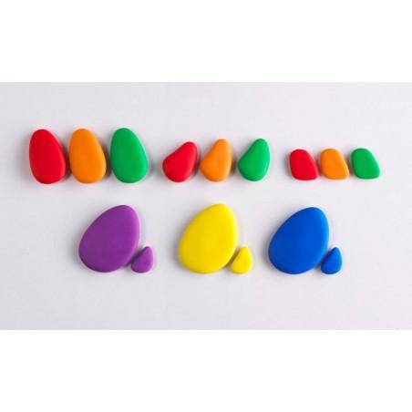Tęczowe kamienie - pomoc sensoryczna
