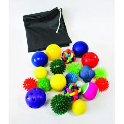 Zestaw 20 piłeczek sensorycznych
