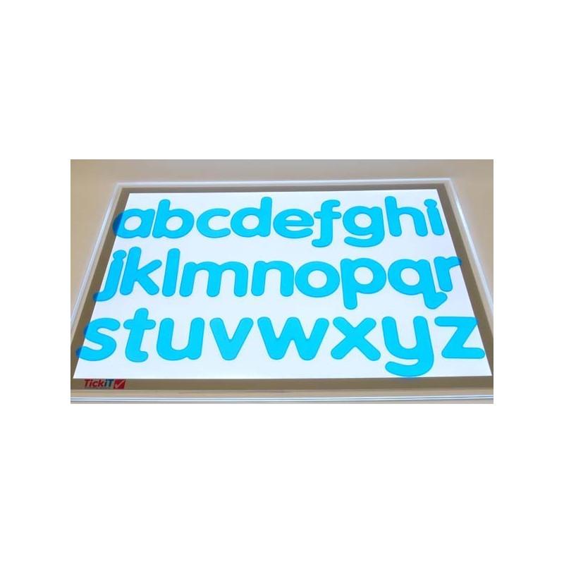 Silikonowe kształtki - litery