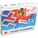 Gra edukacyjna - Sylaby w dominie