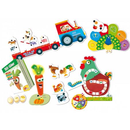 Laboratorium 50 gier - zestaw kreatywnych gier dla dzieci