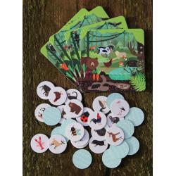 Loteryjka - Zwierzęta leśne i wiejskie