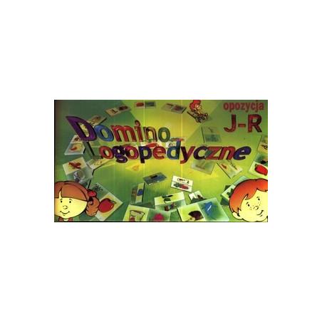 Domino logopedyczne opozycja: j-r