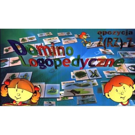 Domino logopedyczne opozycja: ż - z