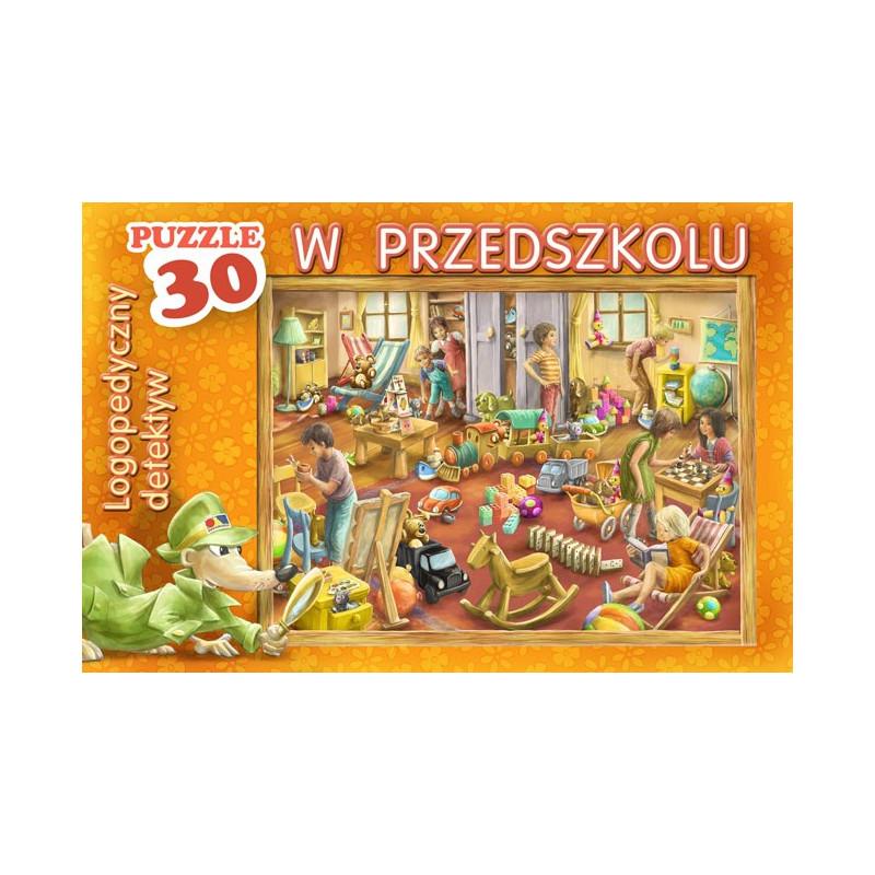 Logopedyczny detektyw w przedszkolu - puzzle