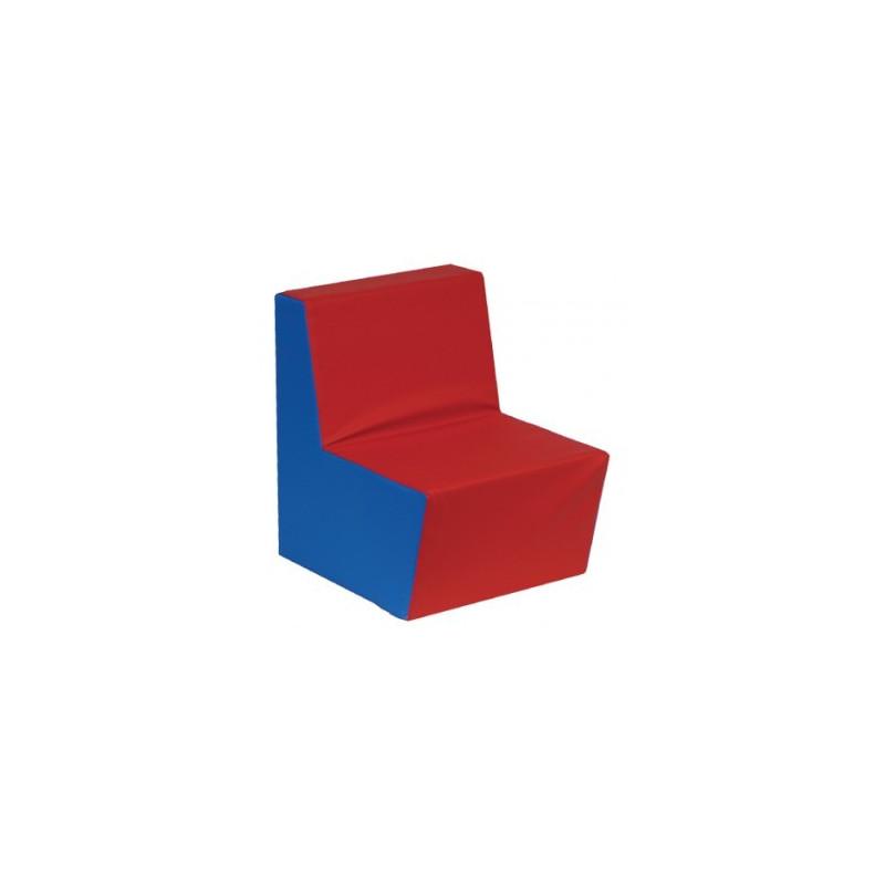 Prosta fotelik piankowy skaj