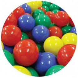 Piłki plastikowe 7 cm. Piłeczki do suchego basenu 500 szt.