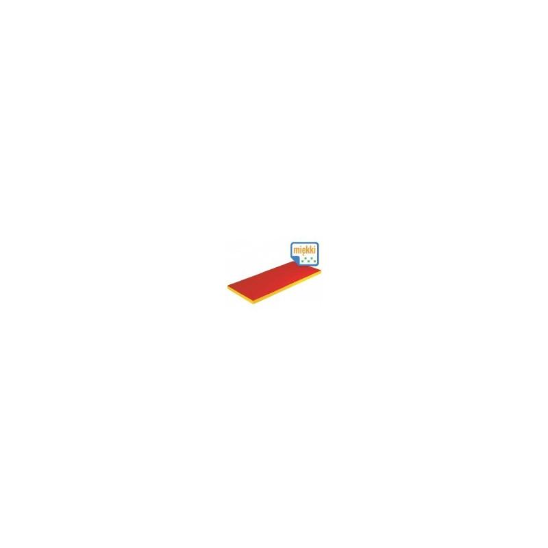 Materac 2x składany miękki 160/60/5 cm