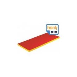 Materac pojedynczy twardy 200/120/5 cm