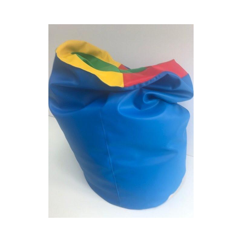 Tunel sensoryczny (pufa) - skaj. Pomoc do terapii Integracji Sensorycznej