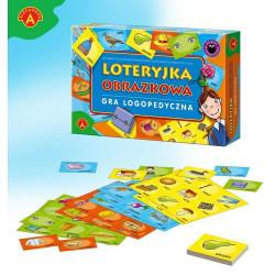 Loteryjka obrazkowa - gra logopedyczna