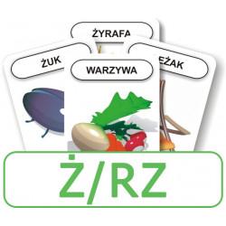 Logopedyczny Piotruś. Część II - głoska Ż/RZ