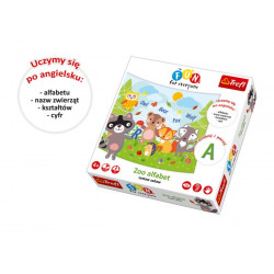Zoo alfabet - zestaw 18 zabaw (uczymy się po angielsku)