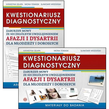 Kwestionariusz diagnostyczny zaburzeń mowy ze szczególnym uwzględnieniem afazji i dysartrii dla młodzieży i dorosłych