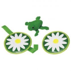 Gra zręcznościowa - latająca żabka. Pomoc dydaktyczna