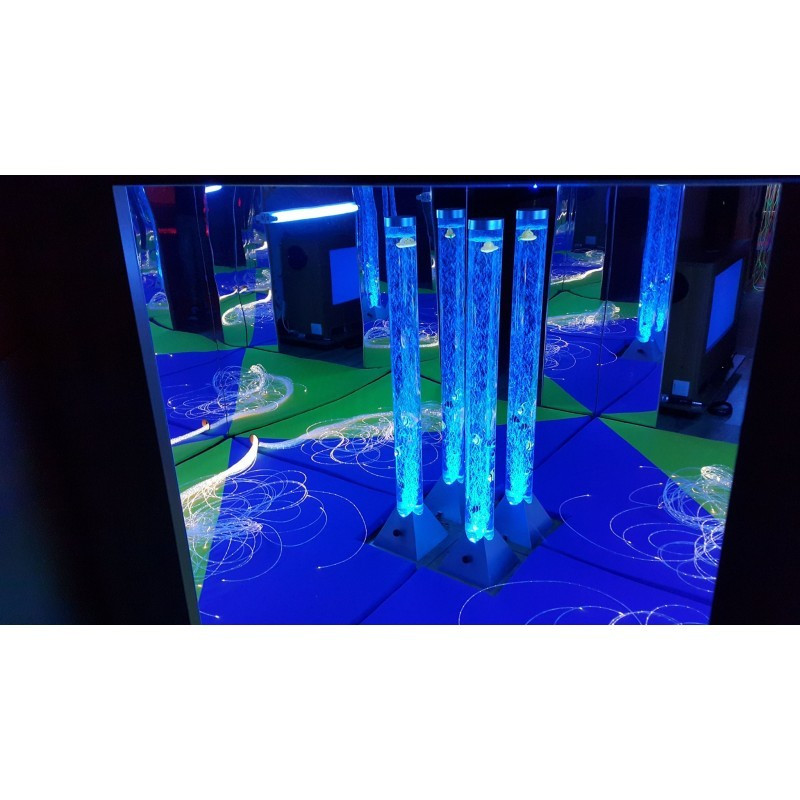 Słup wodny - kolumn 10x120 cm z automatyczną zmianą kolorów