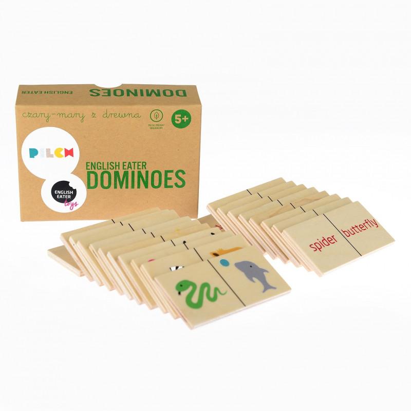 English Eater - Domino. Pomoc do nauki języka angielskiego