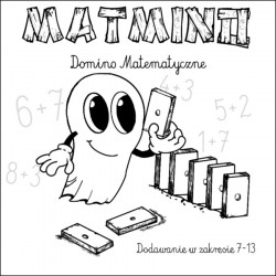 Matmino - domino matematyczne. Pomoc dydaktyczna (nauka dodawania)
