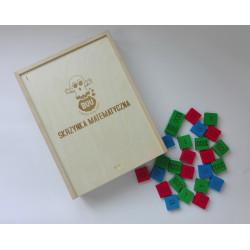 Skrzynka matematyczna. Pomoc Montessori (pomoc dydaktyczna)