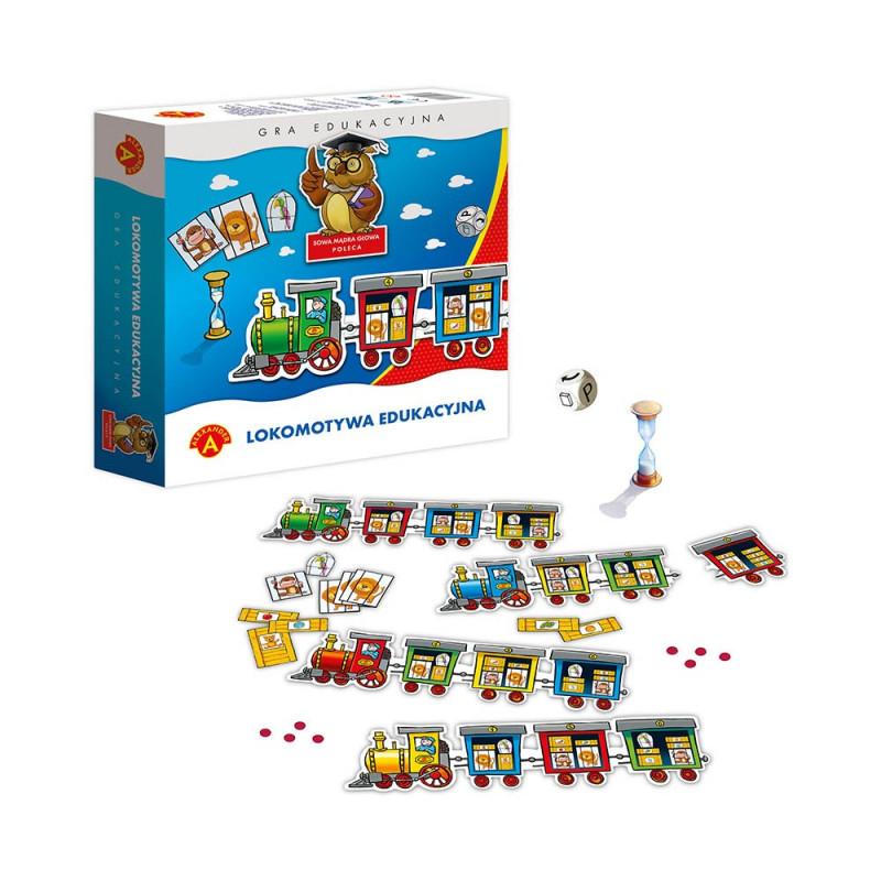Lokomotywa Edukacyjna - gra edukacyjna
