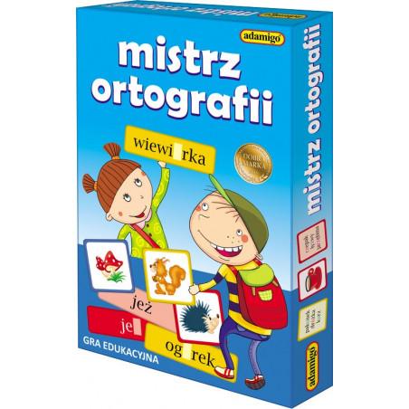 Mistrz ortografii - zestaw gier do utrwalania ortografii