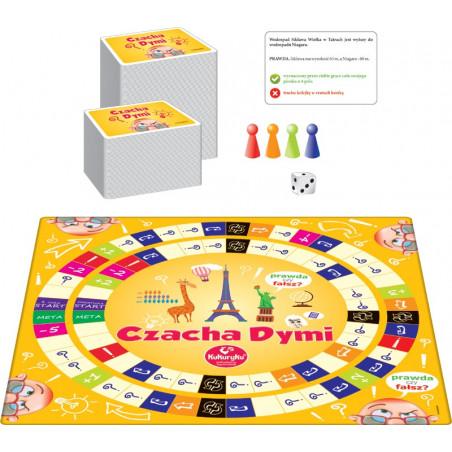 Czacha Dymi - gra planszowa dla całej rodziny