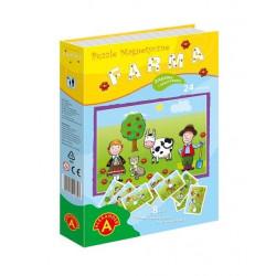 Puzzle magnetyczne - Farma. Kreatywne puzzle