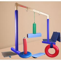 Średni zestaw sprzętów do integracji sensorycznej