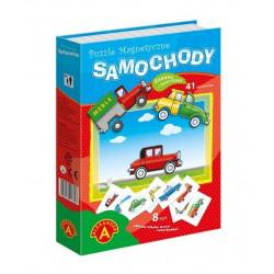 Puzzle magnetyczne - Samochody. Kreatywne puzzle