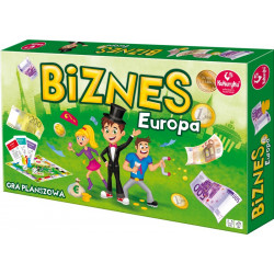 Biznes Europa. Strategiczna gra planszowa
