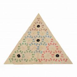 Piramida Matematyczna Duża. Pomoc do nauki mnożenia i dzielenia