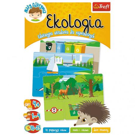 Ekologia. Edukacyjna układanka dla najmłodszych