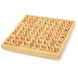 Tabliczka mnożenia - wałeczki. Pomoc matematyczna