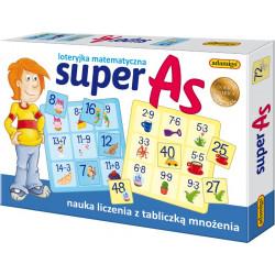Super As. Loteryjka matematyczna