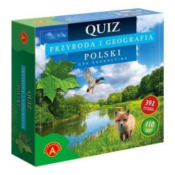 Quiz Przyroda i geografia Polski. Gra edukacyjna