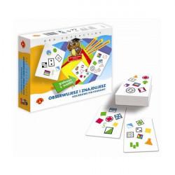 Gra edukacyjna Obserwujesz i znajdujesz kolorowe piktogramy