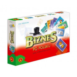 Biznes po polsku - karty. Gra strategiczna