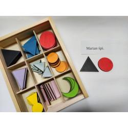 Skrzynka Gramatyczna. Pomoc Montessori (pomoc dydaktyczna)