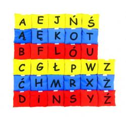 Woreczki - Kolorowy Alfabet (zestaw literek - 3 kolory)