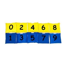 Woreczki - Cyferki. Pomoc do nauki matematyki (Zestaw Parzyste - Nieparzyste)