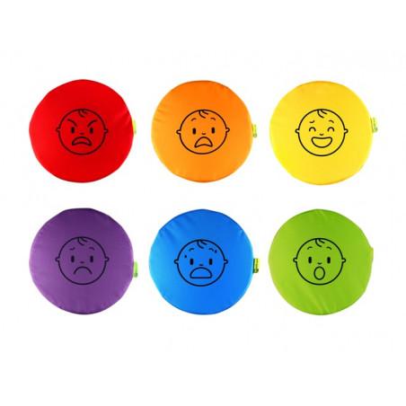Poduszki emocje (zestaw 6 szt.)