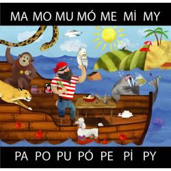 Obrazkowe sylaby - PA MA.