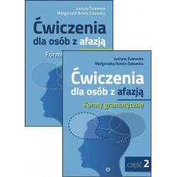 Ćwiczenia dla osób z afazją.  Formy gramatyczne  Zeszyt 1 i 2
