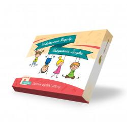 Rzeczowniki-zabawki. Podstawowe reguły nabywania języka. Pomoc logopedyczna i dydaktyczna