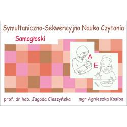 Symultaniczno-Sekwencyjna Nauka Czytania - Samogłoski. Zestaw