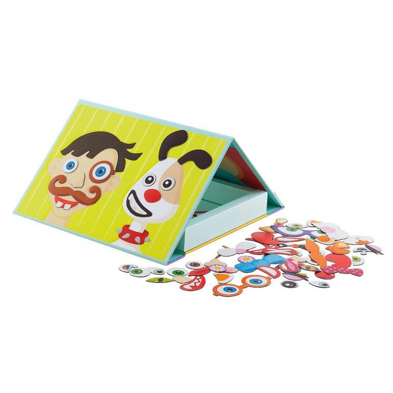 Magnetyczna książka - Twarz