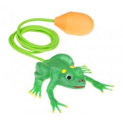 Skacząca żabka. Kreatywna pomoc i zabawka