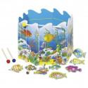 Gra zręcznościowa - łowienie ryb w stawie